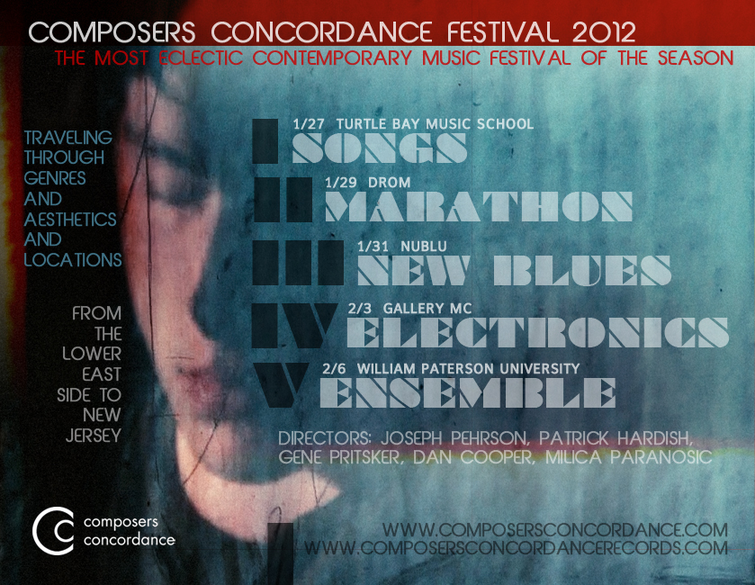 COMPOSERS CONCORDANCE FESTIVAL